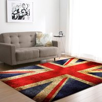 Wholesale american flag carpet resale online - Nordic Style Living Room Carpets Soft Flannel National Flag Area Rugs Kid s Room Crawling Play Mat Rugs Large Rug and Carpet Y200416
