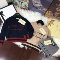 Wholesale boys child garments for sale - Group buy Winter Sweaters For Children Dresses Clothing Boys Pullover Hoodies New Autumn Sweater Children s Garment Long Sleeve Knitting