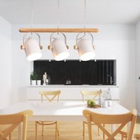 Wholesale light cord sets for sale - Group buy Hanging Lamp Set of LED Pendant Lamps Study Wooden Kitchen Island Pendant Light Drop Lighting Dining Table Living Room