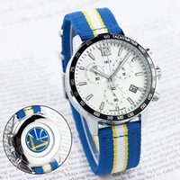 assistir fã venda por atacado-2019 HOT mens relógios de grife para os fãs de equipe de basquete todos funcionam relógios de quartzo de trabalho 1853 pulseira de fita de data muticolors de relógios de pulso de luxo