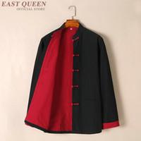 ropa wushu al por mayor-Ropa tradicional china para hombres, chaqueta de bombardero de invierno para hombres, chaqueta de invierno de kush fu kush fu de hombres wushu KK2103