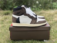 Wholesale x men 13 for sale - Group buy Release Travis Scott X High OG TS SP CD4487 Man Basketball Shoes Sports Sneakers Authentic Quality With OG Box US7