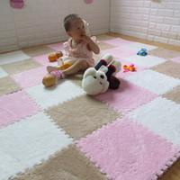Wholesale musical carpet mat for sale - Group buy Baby Playmats Kids Eva Foam Carpet Developing Toddler Crawling Fun Activity Play Center Motor Skills Puzzle Mat In A Bag J190508
