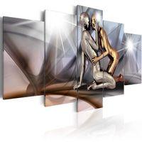 nackt leinwanddrucke groihandel-(Unframed, Only Print) Leinwanddruck Moderne Mode Liebe Nude Couple Naked Bild für Heimtextilien, Geschenk für Liebe