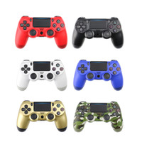 Wholesale gaming controller accessories resale online - Wireless Bluetooth Gamepad Joystick For PS4 Gaming Controller For Sony Playstation Game Accessories