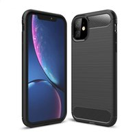 Wholesale rubber phone cover samsung galaxy note for sale – best Carbon Fiber Case For iPhone Pro Xs Max Samsung Note Plus TPU Rubber Phone Cover