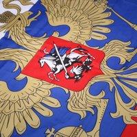 usa bayrak bayrağı toptan satış-ABD Rus Ulusal Bayrak Asılı Bayrakları Ofis / Etkinlik / Geçit / Festival Dekorasyon Için Ev Dekorasyon Banner 90x150 cm