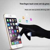 Men Women Winter Touch Screen Gloves Smart Phone Tablet Full Finger Warm Mittens