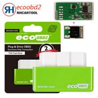 инструменты для чип-тюнинга оптовых-Автомобильный Диагностический инструмент Зеленый EcoOBD2 Экономия Чип-Тюнинг Box OBD Автомобиля Экономия Эко OBD2 для Бензиновых Автомобилей Экономия Топлива 15%