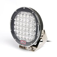utv geführtes punktlicht rund großhandel-8pc 185W LED-Licht-Leistungsscheinwerfer Arbeitsscheinwerfer für LKW-Pick-up-Offroad 4x4 Anhänger SUV ATV UTV RV Auto Auto fahren