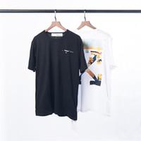 ingrosso feticcio maschile abbigliamento-T-Shirt Uomo Girocollo in cotone a maniche lunghe con stampa europea mezza manica antirughe di nuovo stile Bianco Nero Rosso. # A1