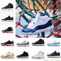 niedrige preis basketball sportschuhe groihandel-Neue Schuhe 11s Herren-Basketball-Schuhe preiswerter Preis-Verkauf-vollkommene Qualität Infrarot-Low High Sportschuh Sale Größe Us 8-13