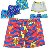 d47abae464e83 New Beach Swimwear Shorts ages 3 to 8 Boys Summer Swim Wear Cartoon Printed  Toddler Kid Swimming Trunks Swimsuit Drop Shipping