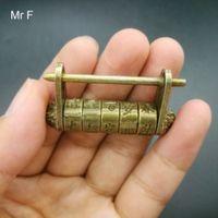 ingrosso antichi giocattoli cinesi-Giocattolo della novità di stile cinese regalo del capretto vintage coltura antica Cipher Blocco Mini