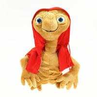 ingrosso grandi bambole in vendita-Bambola di pezza extra terrestre ET giocattoli di peluche con occhi grandi 20 Cm Giocattolo di alta qualità Vendita calda 19pz D1