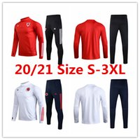 Wholesale colombia soccer team resale online - 2020 Wales jacket Colombia soccer jersey BALE ALLEN long sleeve training clothes Wilson national team mens football shirt tracksuit