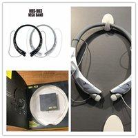 geri çekilebilir iphone kulaklıklar toptan satış-Perakende Paketi ile Iphone X 8 için HBS903 Bluetooth Kulaklık HBS 900 Kablosuz Sport Gerdanlık Kulaklık geri çekilebilir Bluetooth Stereo Kulaklık