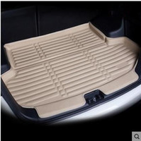 ingrosso boot trays-Car Rear Boot Liner Trunk Cargo Mat Tray Floor Carpet Fango Pad Protector per Mazda CX5 CX-5 2017 2018 Auto-styling
