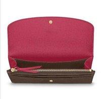 embreagens de design venda por atacado-2019 design clássico europeu homens e mulheres carteira longa boa qualidade saco de embreagem como um gift689