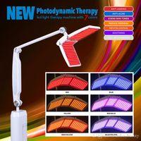 máquinas de pele conduzidas profissionalmente venda por atacado-Beauty Salon Use PDT LED pele rejuvenescimento máquina Máquina Light Therapy Photon Com 7 Cores profissionais com CE