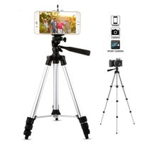 Wholesale flexible clip tripod online – Protable Adjustable Phone Camera Tripod Flexible Stand Mount Holder Clip Set Universal Tripods for Phone for iphone Samsung Z2
