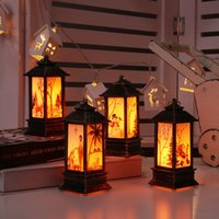 Wholesale 6 style Christmas Decoration Light Candlestick Night Light Santa Snowman Desktop Christmas Decoration Free DHL Shipping XD22627