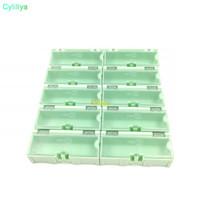 Wholesale component storage boxes for sale - Group buy Original Green Component storage box Square IC Components Boxes SMT SMD Wen tai Boxes Combination Plastic Case