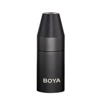 conector mini pino xlr venda por atacado-BOYA por 35C-XLR 3,5 milímetros (TRS) Mini-Jack Feminino Microfone Adaptador Para XLR de 3 pinos conector macho para câmara de vídeo Mixer Camera Áudio R