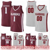 Wholesale crimson basketball resale online - Daniel Giddens Herbert Jones Kira Lewis Jr Tevin Mack Alex Reese Riley Norris Alabama Crimson Tide basketball Jerseys S XL