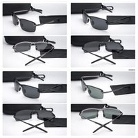 Wholesale coloured glass light resale online - Square Polarized Light Sunglasses For Man Stainless Steel Frame Sunglass Multi Colours Drive Practical Ultraviolet Proof Fashion Glass wtD1