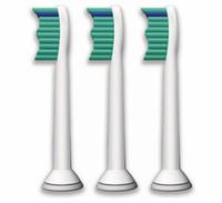 reemplazos de sonicare cepillo de dientes al por mayor-Cabezal del cepillo de dientes Sonicare con cabezales de reemplazo ultrasónicos eléctricos para Phili Sonicare ProResults HX6013 Standard 1set = 3pcs