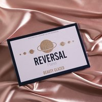 Wholesale colorful palette for sale - Group buy Beauty Glazed Reversal Eyeshadow Makeup Pallets Colors Eyeshadow Colorful Highlighter Charm Private Label Eyeshadow Palette