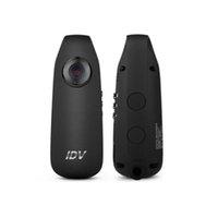 ingrosso camma mini corpo-Mini videocamera IDV007 Full-HD 1080P DV Video 130 Grandangolo Dash Cam indossabile Body Bike H.264 Videocamera Registratore vocale Micro IDV 007