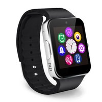 Wholesale q18 smart watch online – Q18 smart watch watches smartwatch Wristwatch with Camera TF SIM Card Slot Pedometer for apple android phones Activity Tracker Sport