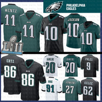 b789523501a Wholesale philadelphia eagles jerseys online - 10 DeSean Jackson Carson  Wentz Philadelphia jersey Eagles Brian Dawkins