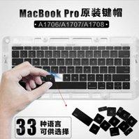 ingrosso tastiera retina macbook-Nuovi tasti tastiera US / UK / DE / SP / FR per Macbook Pro Retina 13