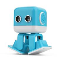 aplicación de juguetes controlados al por mayor-Cubee Robot Inteligente inteligente Baile Robot F9 juguete Juguetes electrónicos para caminar Aplicación de control Robot Regalo Para Niños Educación Juguete 1 unid
