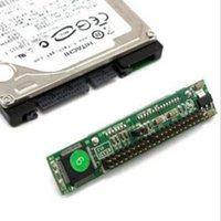 ingrosso porte seriali dei portatili-2,5 pollici HDD SSD Serial ATA 7 + 15P femmina a 44 Pin Maschi PATA IDE Port scheda adattatore da 2,5