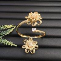 ingrosso nappe vivaci-Lanyika Fashion Jewelr Braccialetto romantico con nappe artistiche vivaci originali in micropiastra con banchetto ad anello Migliore regalo quotidiano