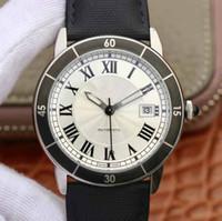 reloj gps de calidad al por mayor-2019 Mens Luxury GP de calidad superior 42X9.8mm suizo ETA 2824 movimiento automático para hombre de aleación de titanio hebilla relojes