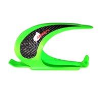 halter flaschenrahmen grün großhandel-BC1019 Grün Vollcarbon 3 Karat Fahrrad Flaschenhalter Kohlefaser Flaschenhalter Fahrrad Zubehör Fabrik Design