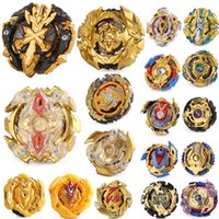Wholesale beyblade metal 4d fights toys for sale - Group buy Gold series Upgraded D Beyblade Burst Toys Arena Beyblades Metal Fighting Explosive Gyroscope Fusion God Spinning Top Bey Blade Blades