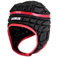 bonés de futebol preto venda por atacado-Goalie Roller Homens Red Scrum Cap Janus Crianças Futebol Futebol goleiro Capacete Rugby Headguard Black Hat Protector de Cabeça