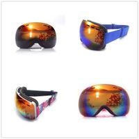 Wholesale snowmobile eyewear for sale - Group buy Double Layers Anti Fog Ski Goggles Men Women Sports Ski Glasses Snowmobile Skiing Mask Snow Sunglasses Snowboarding Eyewear