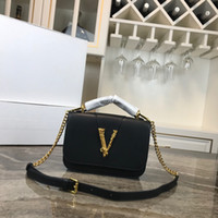 reißverschlüsse kaufen großhandel-Designer-Handtaschen High-End-Qualität aus echtem Leder Reißverschluss Umhängetaschen Frauen Umhängetasche Designer-Handtasche Come buy free shipping