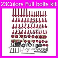 Wholesale 99 yamaha r6 body kit for sale - Group buy Fairing screws Full bolts kit For YAMAHA YZFR6 YZF R6 YZF R6 MC71 OEM Body Nuts bolt screw Nut kit