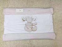 babybär decken großhandel-GG Bärendruck Baby Quilts warme neugeborene Deckenquadrat Säuglingsverpackungsqualität