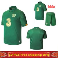 Wholesale Ireland home Soccer Jersey Ireland man and kids kit football Soccer Jersey