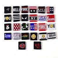 mädchen armbänder großhandel-Kindersport Armband Haarband Jungen Hip-Hop Armbänder Basketball Running Armband Mädchen Haarband Armbänder Handgelenkstütze 4914