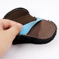 ayakkabı eldivenleri toptan satış-Boyacısı Eldiven Toz Giderme Ayakkabı Bezi Yumuşak Kürk Parlatma Fırçası Tozsuzlaştırma Elastik Bant Direnç Kirlenme 0 55kqC1